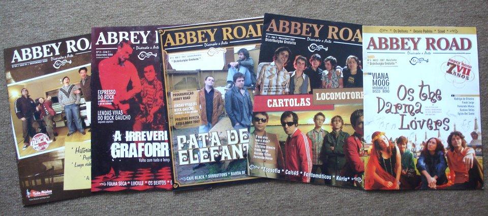 Capas da Revista Abbey Road