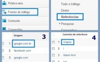 Como ver os acessos do Google Images em meu site