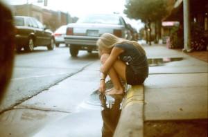 Não adianta sentar e chorar